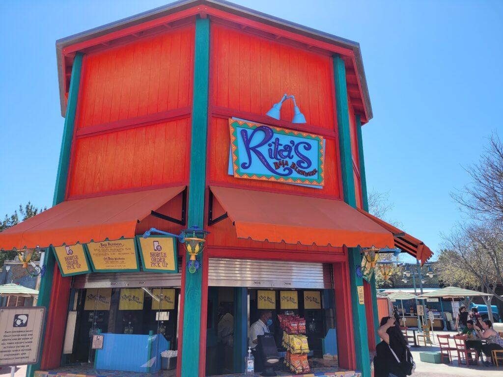 Rita's Baja Blenders in Pacific Wharf