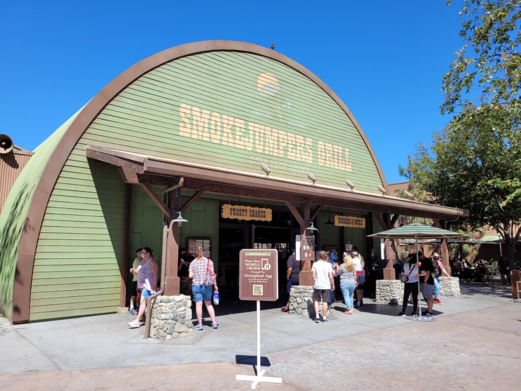 Smokejumpers Grill Sign