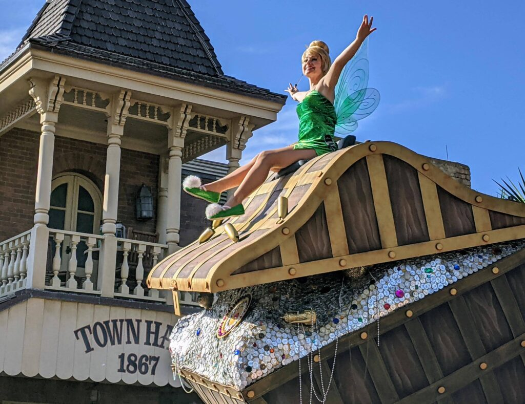 Tinkerbell Cavalcade at Magic Kingdom