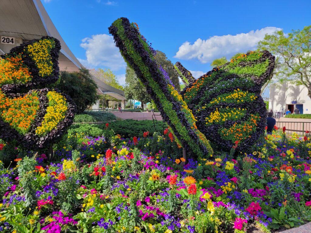 Topiary Butterflies