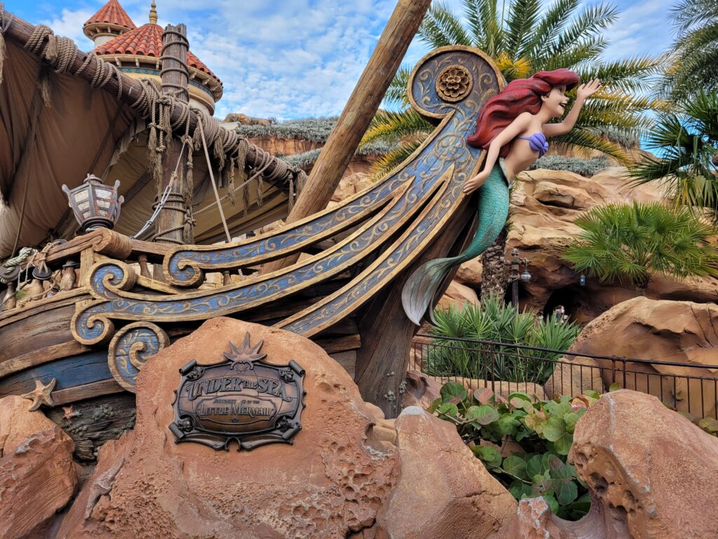 Under The Sea - Journey of the Little Mermaid Attraction at Magic Kingdom