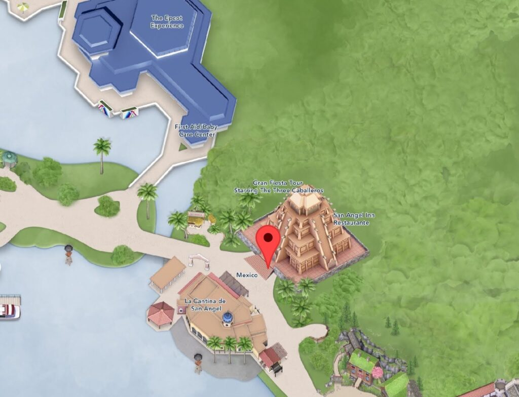 Where to Find Gran Fiesta Tour at Epcot