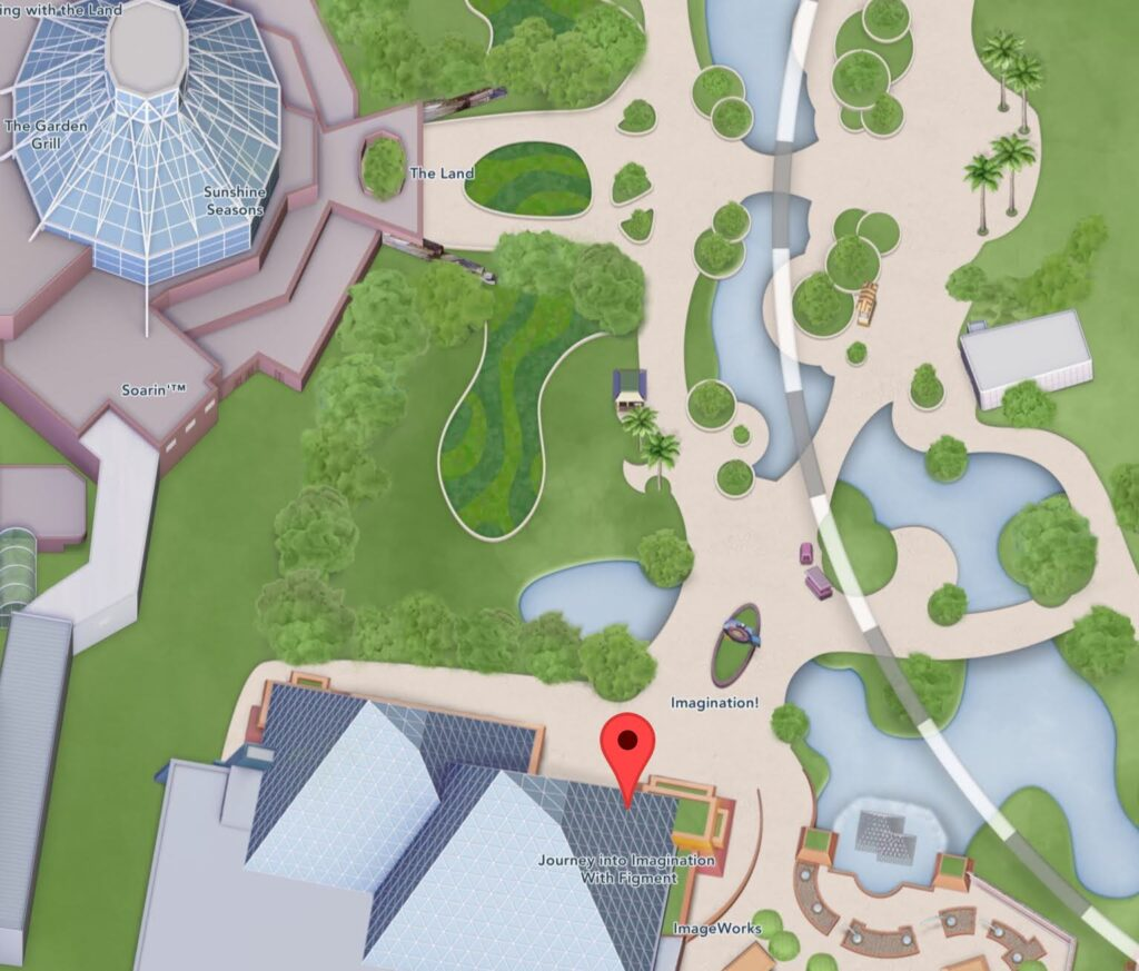 Where to Find Journey Into Imagination With Figment at Epcot
