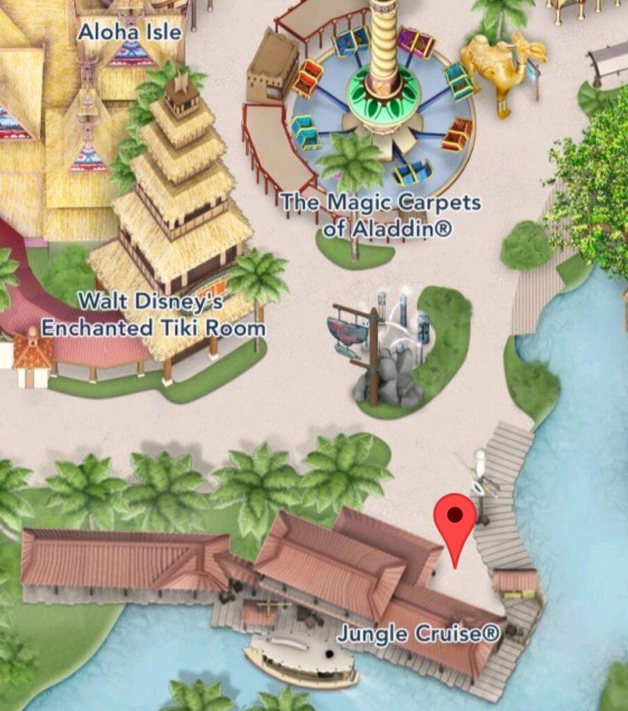 Where to Find Jungle Cruise at Magic Kingdom