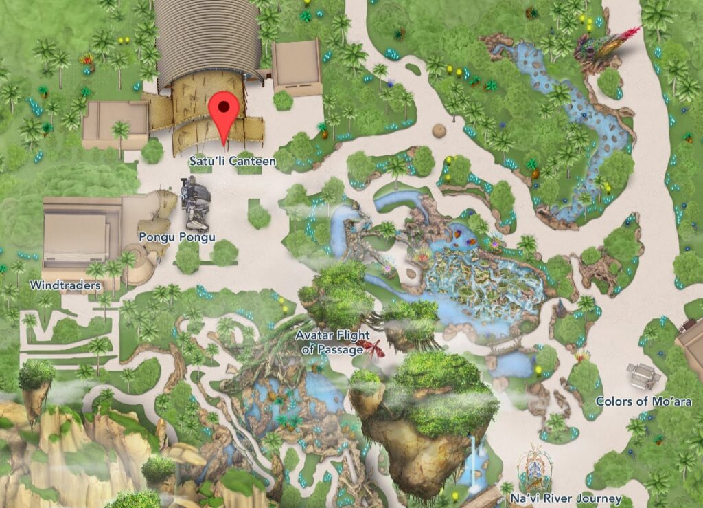 Where to Find Satu'li Canteen at Animal Kingdom