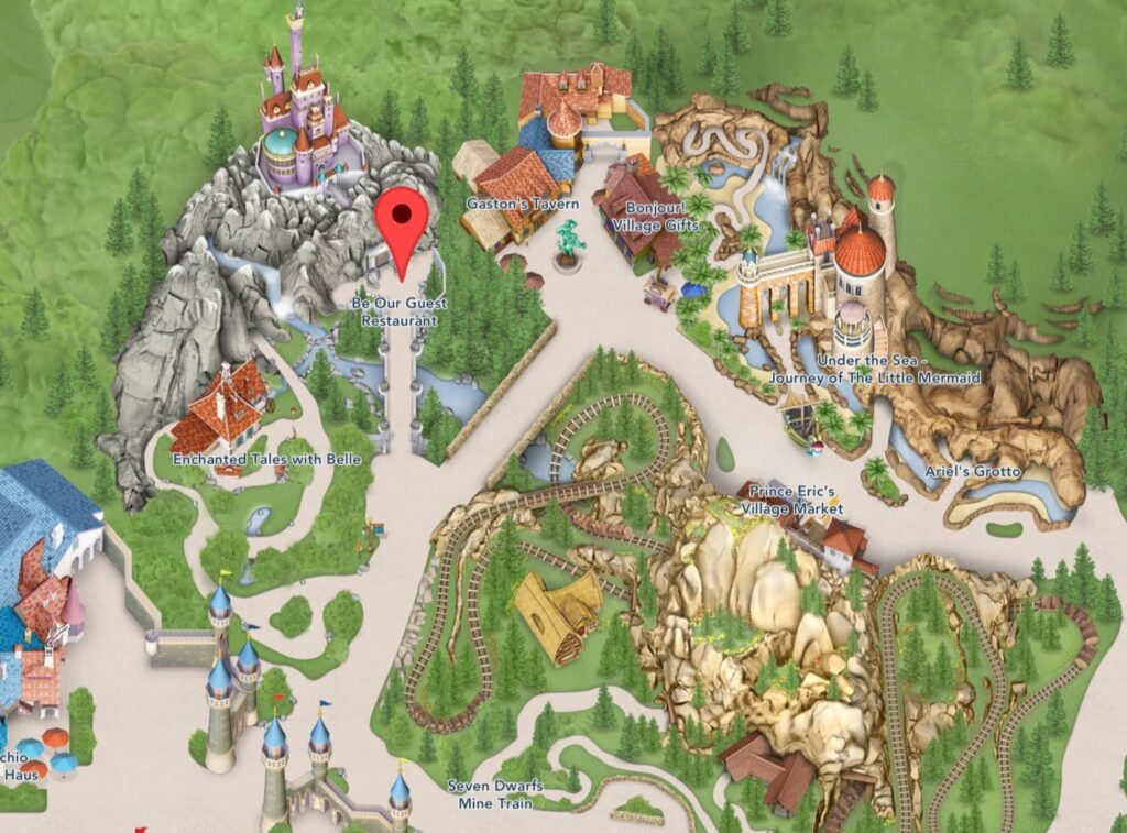 Where to Find the Be Our Guest Restaurant at Magic Kingdom