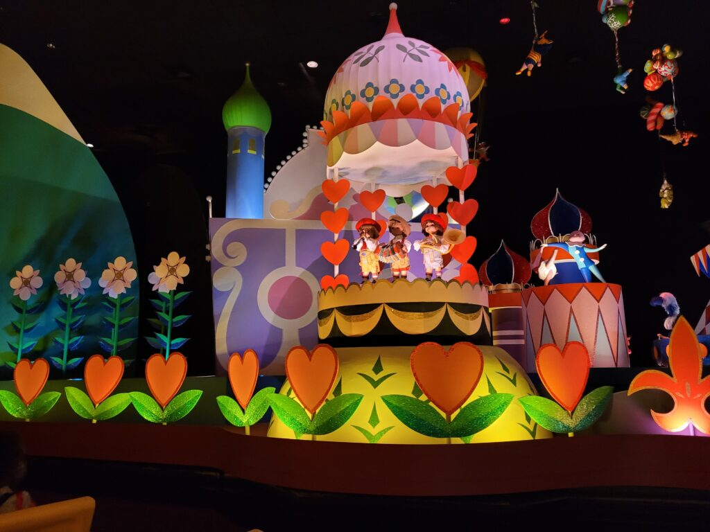 Inside it's a small world Attraction at Magic Kingdom