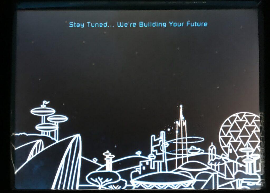 Spaceship Earth touchscreens, EPCOT