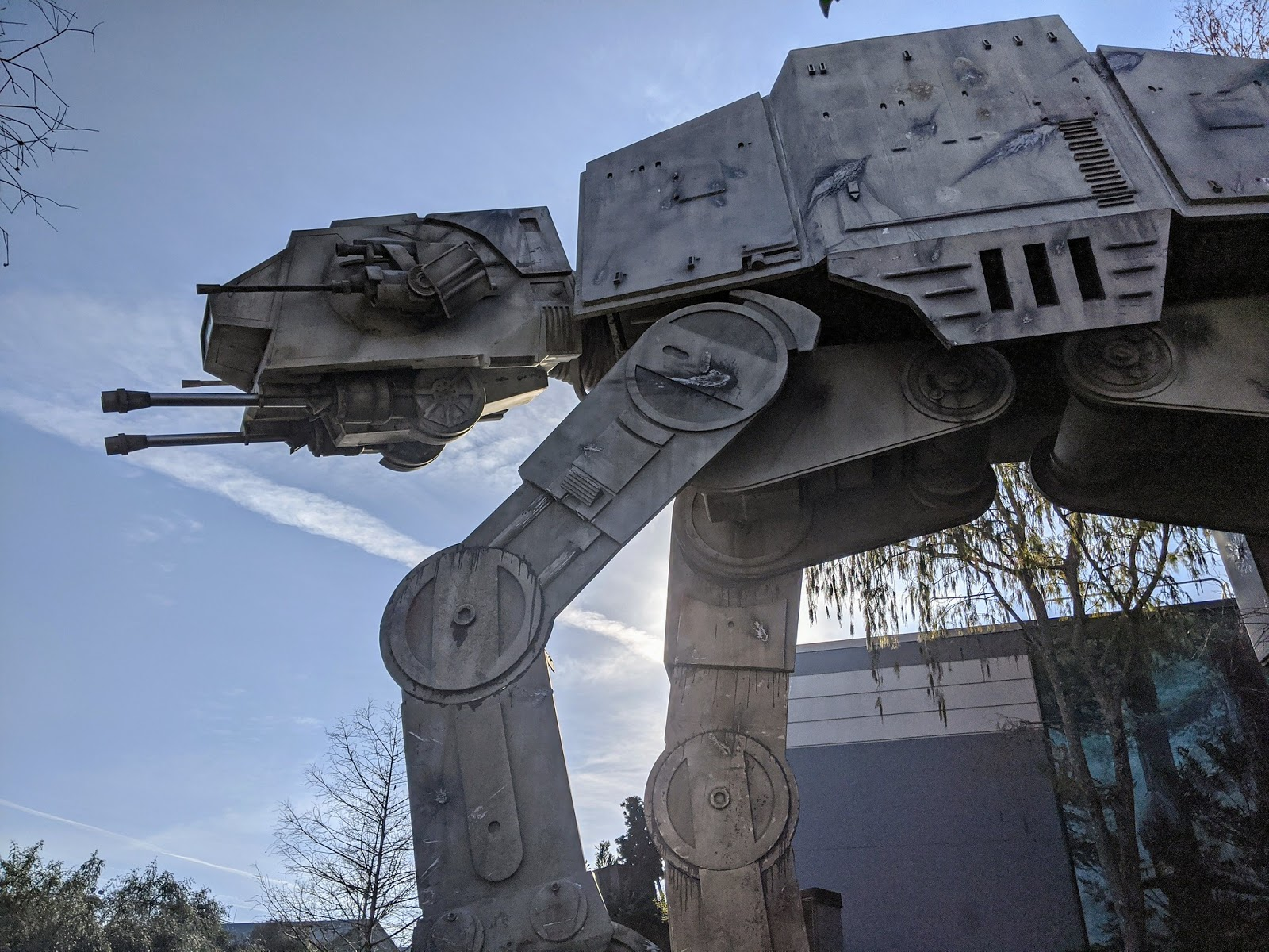 Exterior theming at Star Tours - The Adventure Continues, Disney World