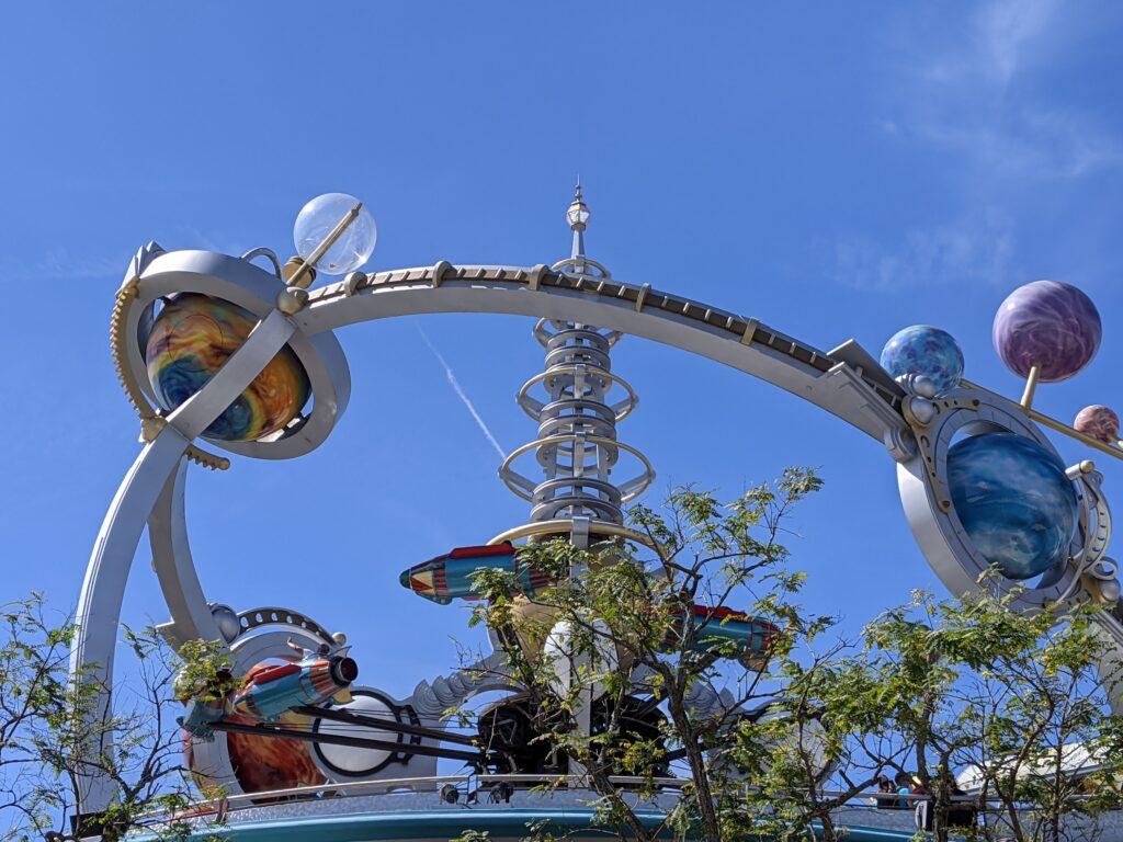 Astro Orbiter Attraction at Magic Kingdom