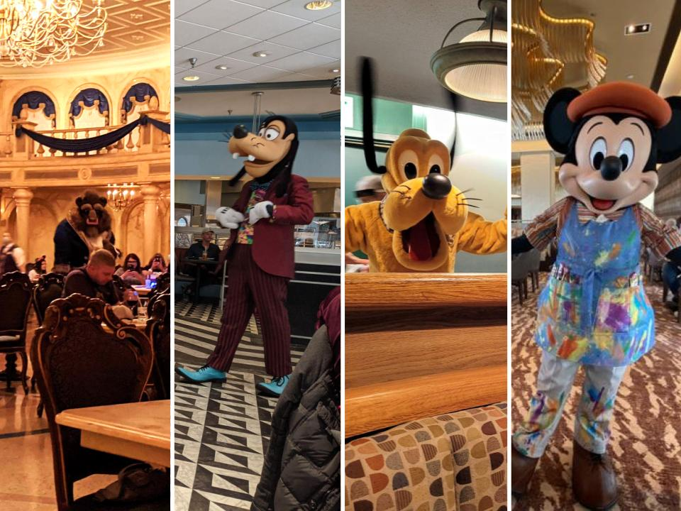 Disney Character Dining Experiences