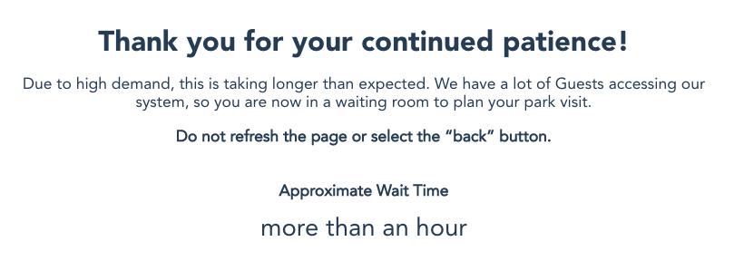 Disneyland Tickets Countdown Timer