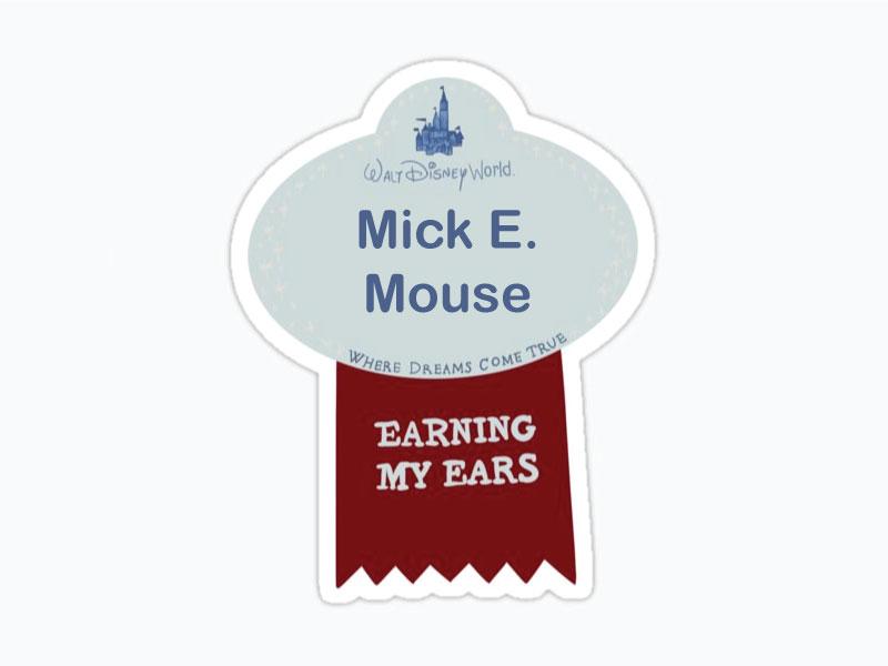 Earning-My-Ears-Badge---Mick-E.-Mouse