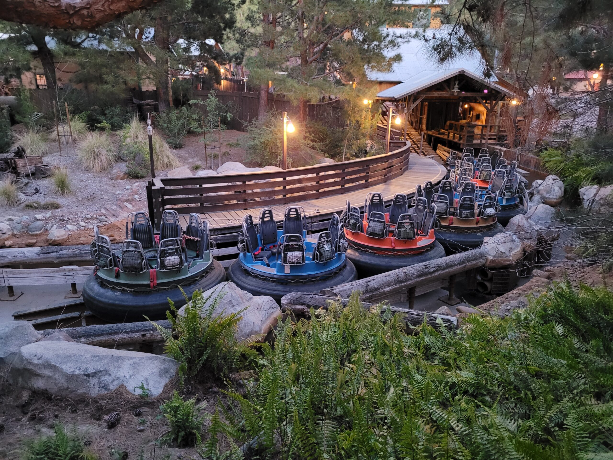 Grizzly River Run Attraction