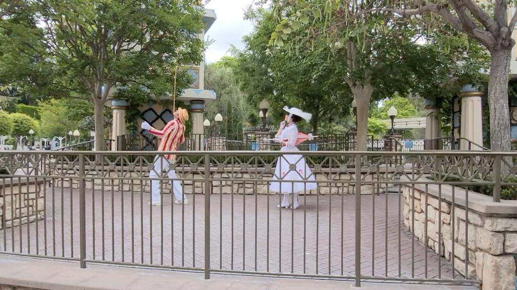 Mary Poppins & Bert Meet and Greet