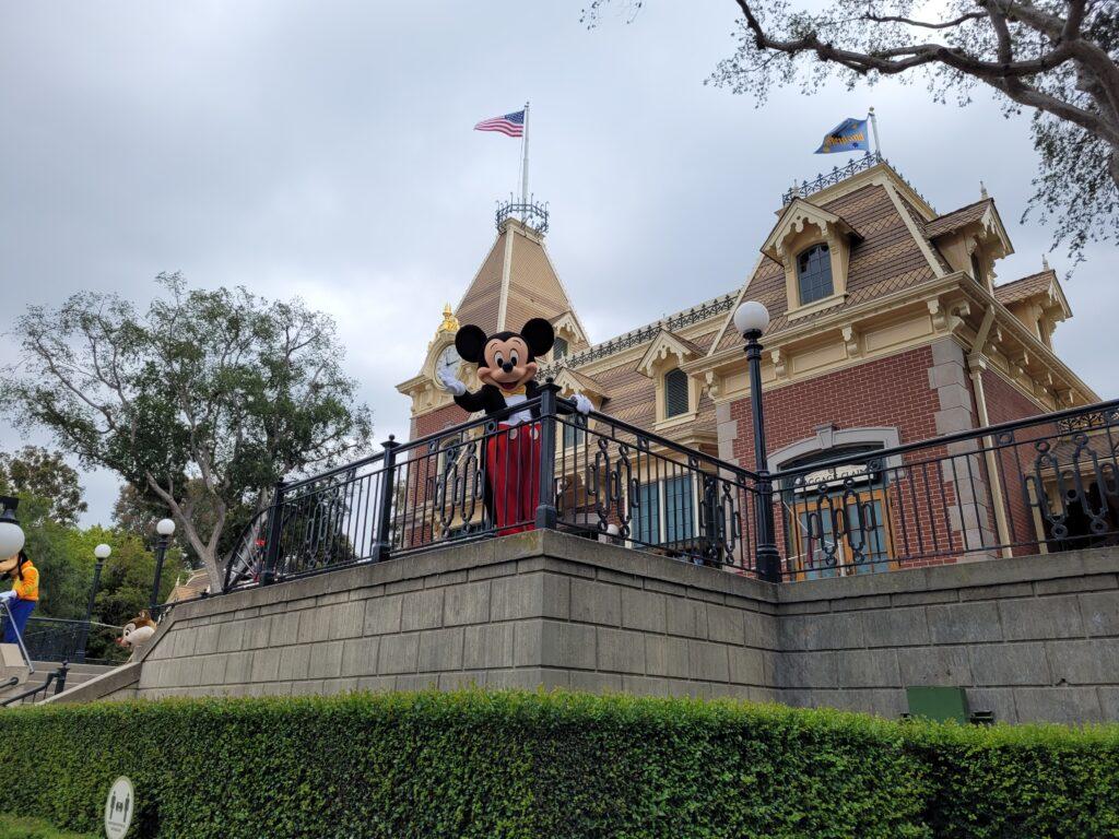 Mickey Character Meet & Greet on Disneyland Main Street