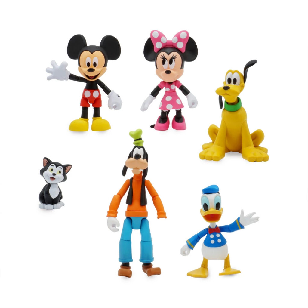 Mickey Mouse and Friends Action Figure Gift Set