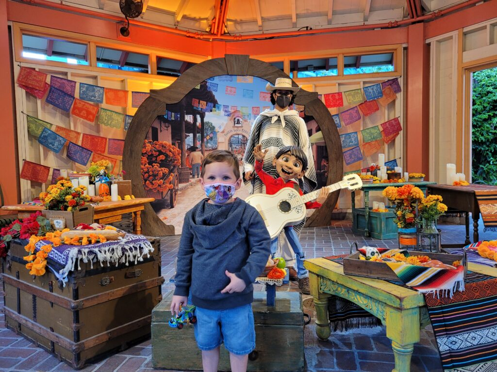 Miguel Meet and Greet near Goofy's Sky School - California Adventure