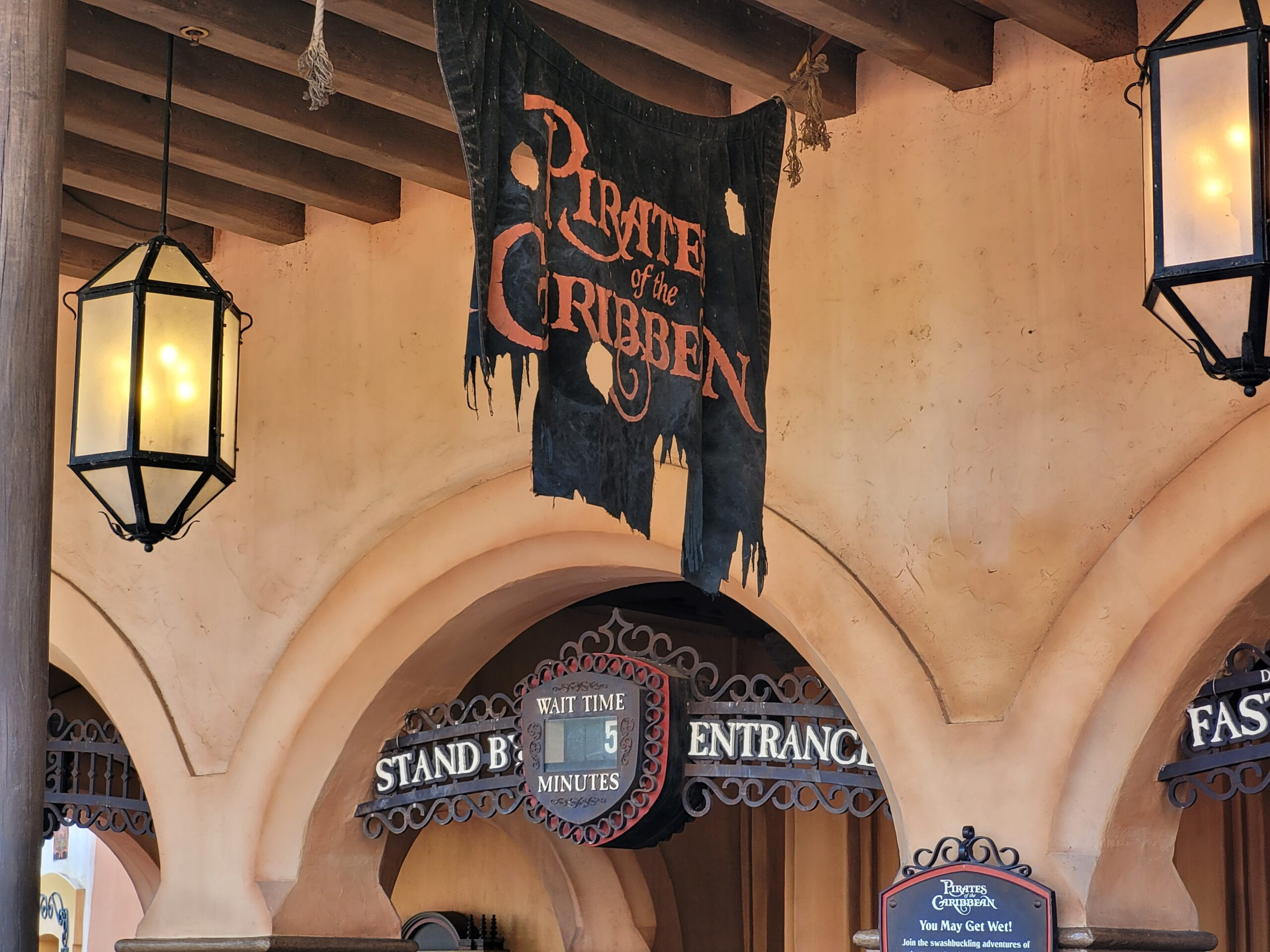 Pirates of the Caribbean Sign