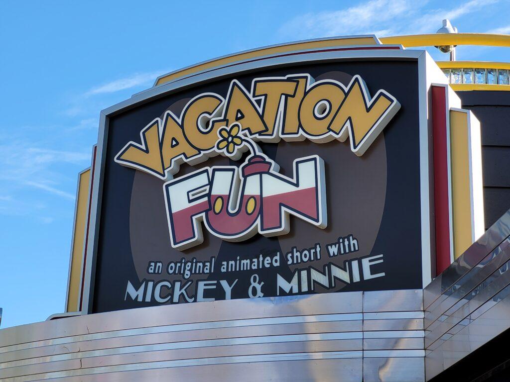 Vacation Fun Sign