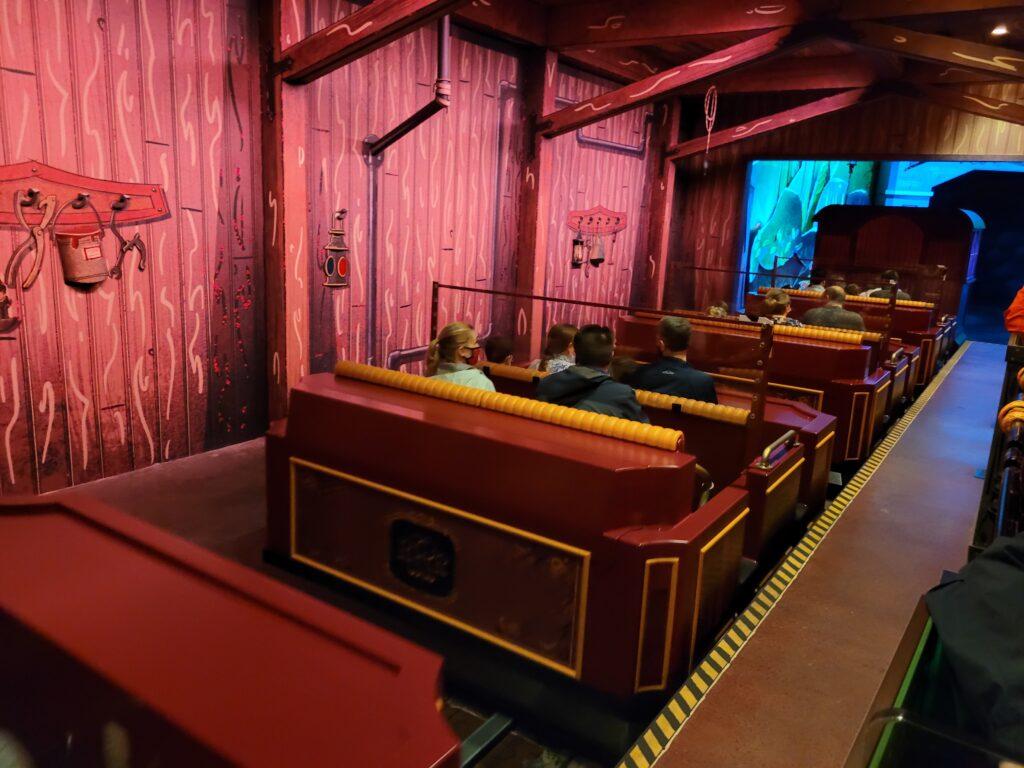 Vehicle for Mickey & Minnie's Runaway Railway
