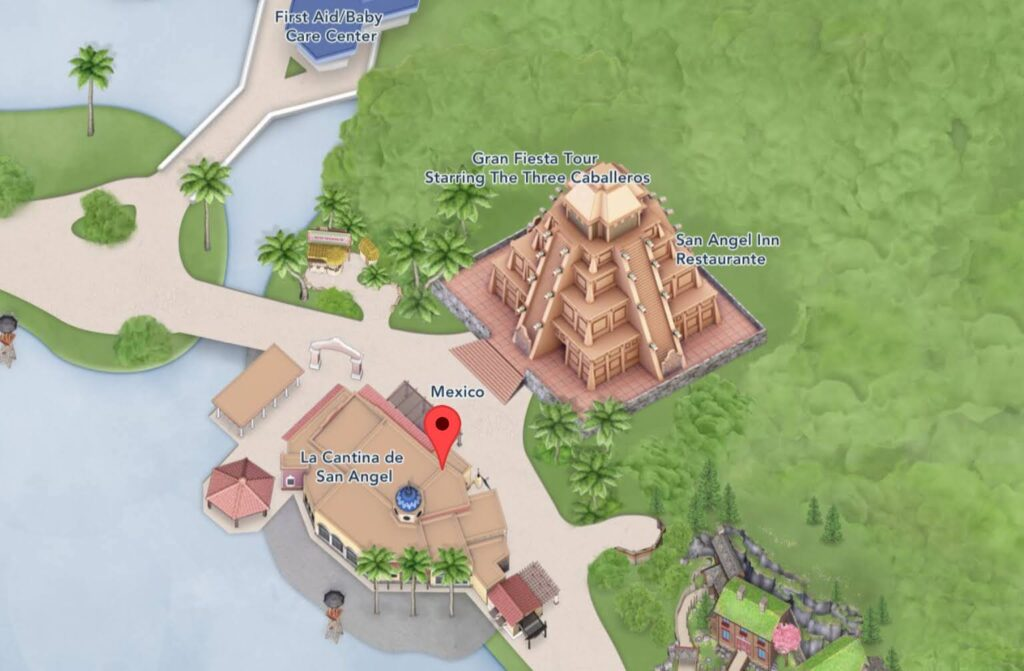 Where to Find La Cantina de San Angel in EPCOT