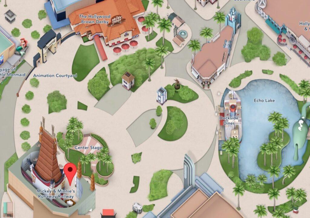 Where to Find Mickey & Minnie's Runaway Railway