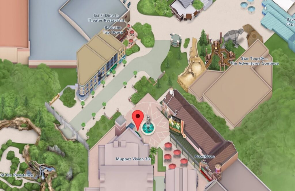 Where to Find Muppet Vision 3D in Hollywood Studios