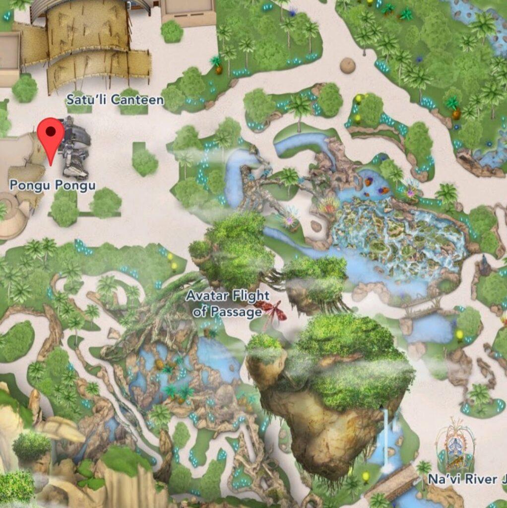 Where to Find Pongu Pongu at Animal Kingdom