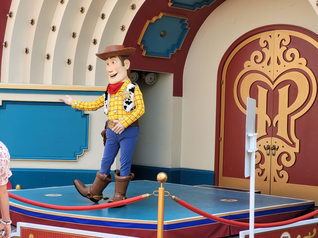 Woody Character Character Meet & Greet