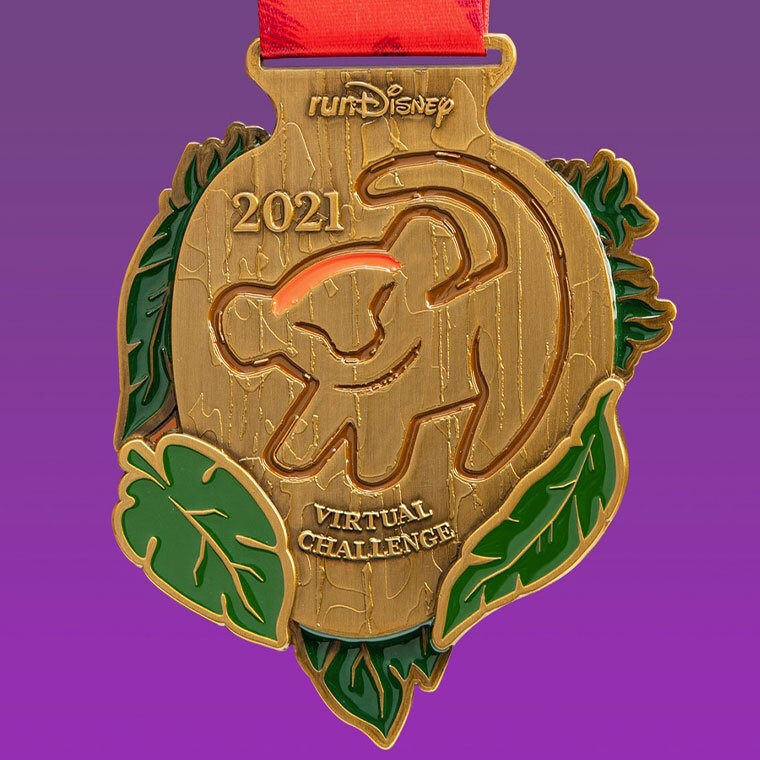 runDisney Virtual Challenge 5K Medal