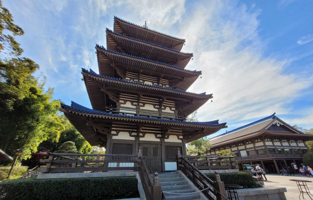 Pagoda at EPCOT's Japan Pavilion