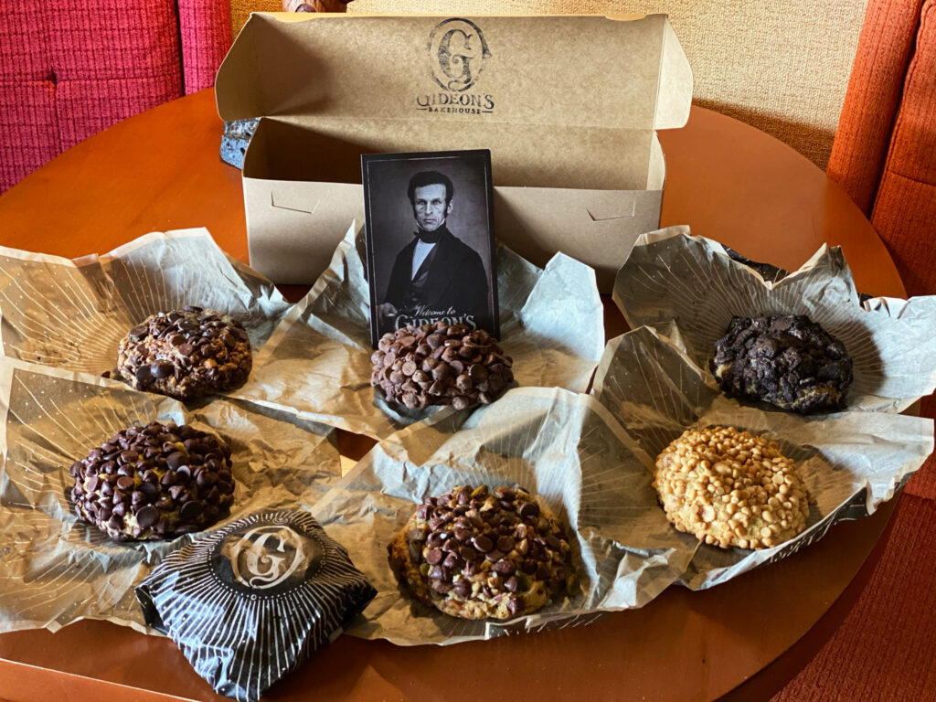 Assorted cookies from Gideon's Bakehouse at Disney Springs