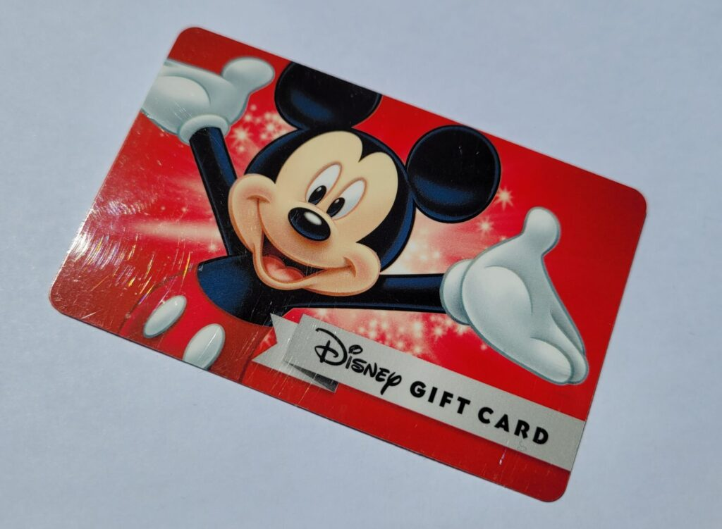 5% Off Disney Gift Cards Bought with Target Red Card