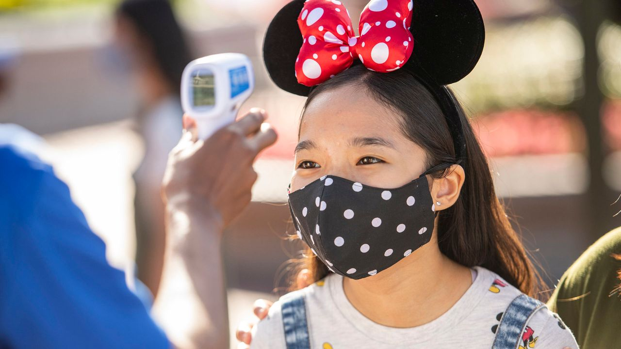 Disney World To End Temperature Screenings This Month