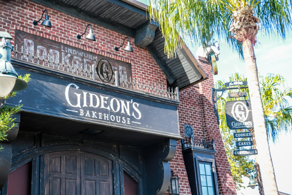 Gideon's Bakehouse Sign at Disney Springs