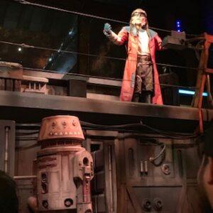 Droids on Millennium Falcon: Smugglers Run