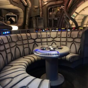 Living area of Millennium Falcon on theMillennium Falcon: Smugglers Run at Disney's Hollywood Studios