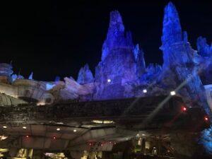 Millennium Falcon: Smugglers Run at night - Disney World