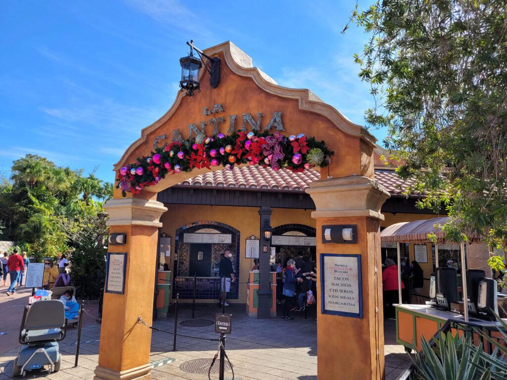 La Cantina Quickservice Restaurant at EPCOT's Mexico Pavilion