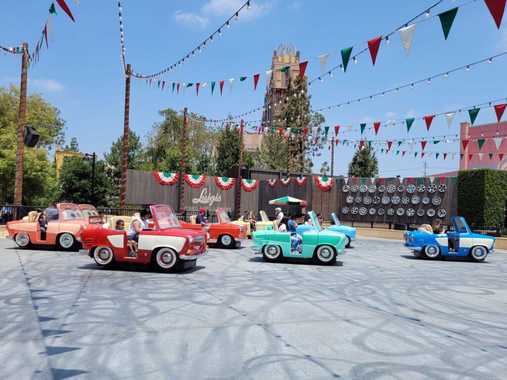 Luigi's Rollickin Roadsters Ride Vehicles