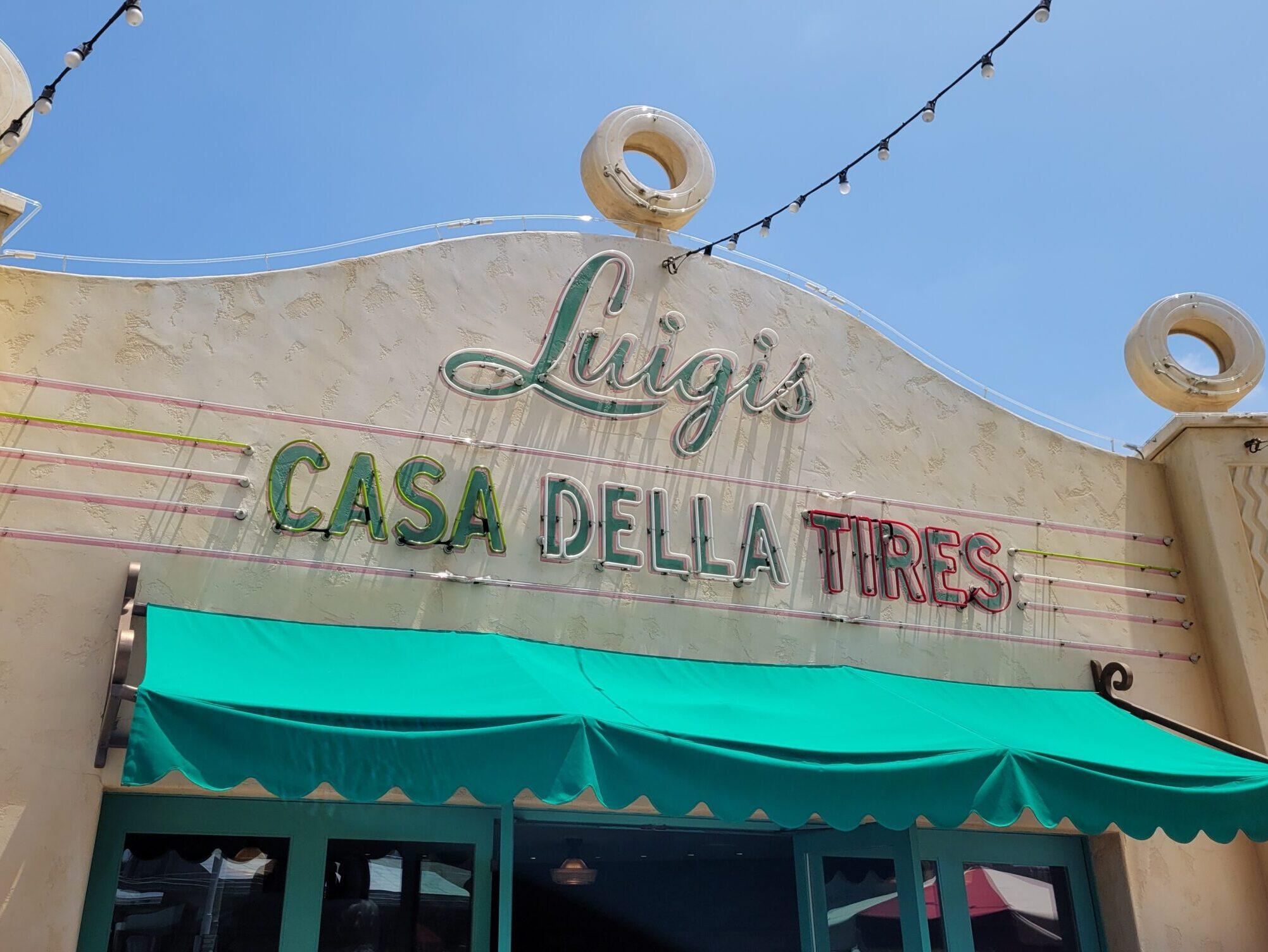 Luigi's Rollickin Roadsters Sign