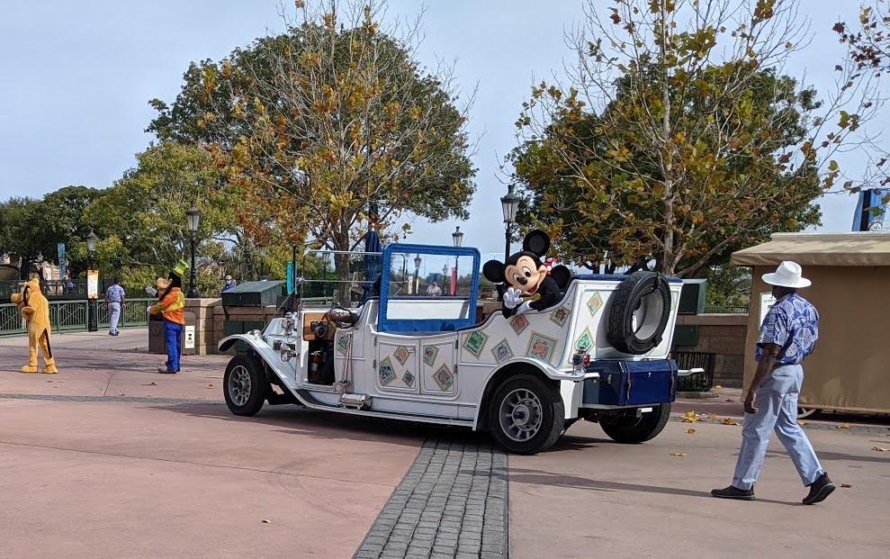 Mickey & Friends Cavalcade at Epcot