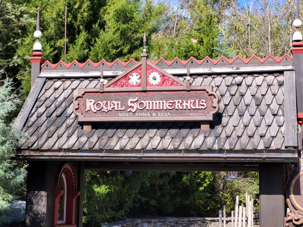 Royal Sommerhus in Norway Pavilion at Epcot