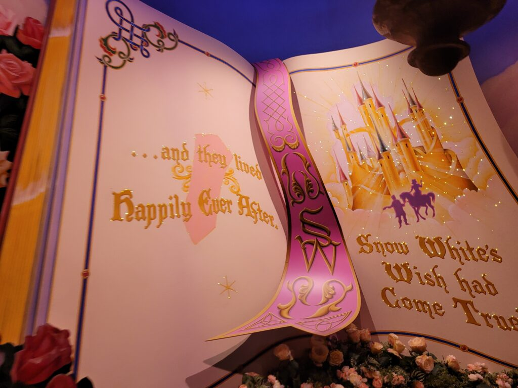 Snow White's Enchanted Wish - End of Ride