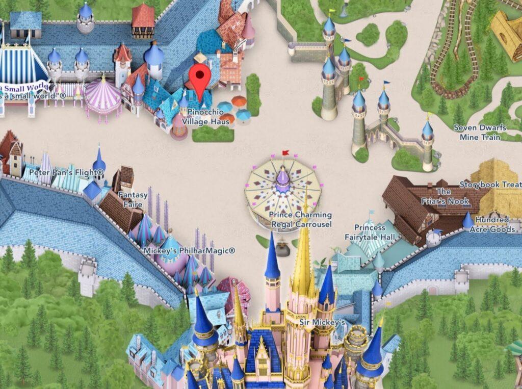 Where to Find Pinocchio Village Haus at Magic Kingdom