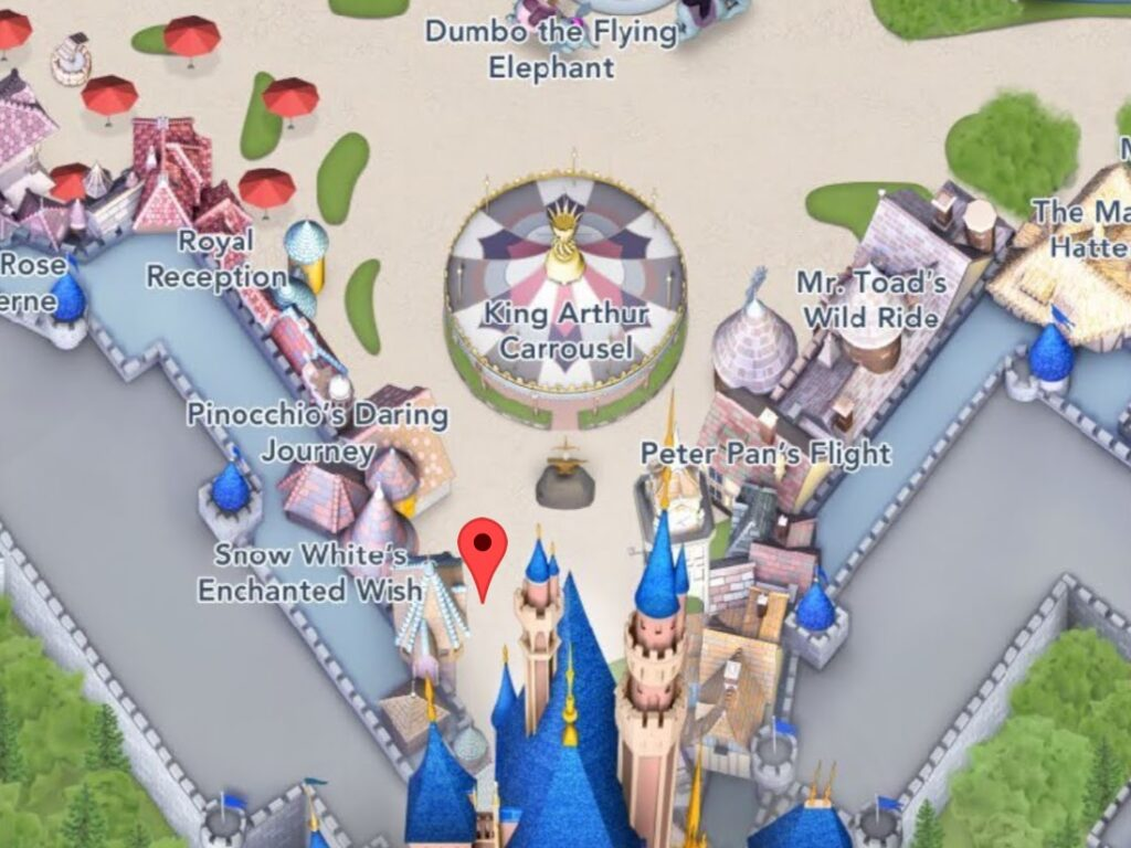 Where to Find Snow White's Enchanted Wish at Disneyland