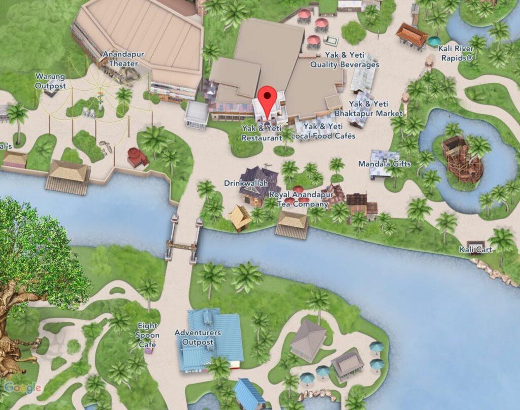 Where to Find Yak & Yeti Restaurant