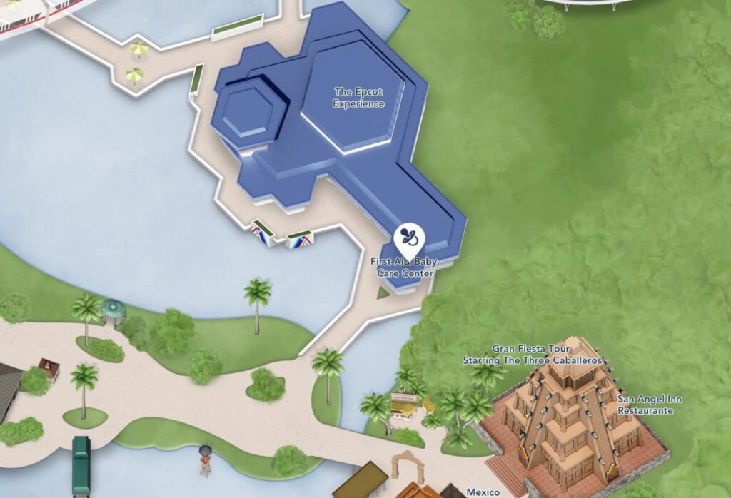 Where to Find the Baby Care Center at Epcot