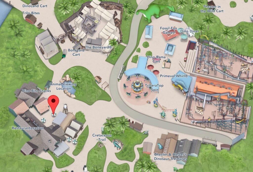 Where to find Restaurantosaurus at Animal Kingdom